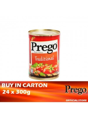 Prego Traditional Pasta Sauce 24 x 300g