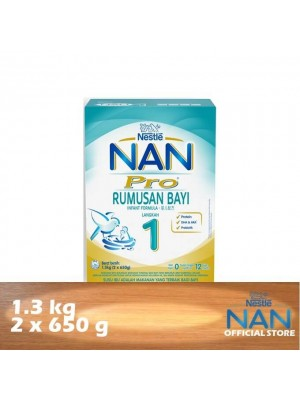 Nestle Nan Pro 1 Infant Formula BiB 1.3kg