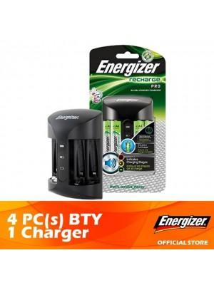 Energizer Pro Charger + Energizer Recharge Power Plus AA 2000MAH 4pcs 1 set