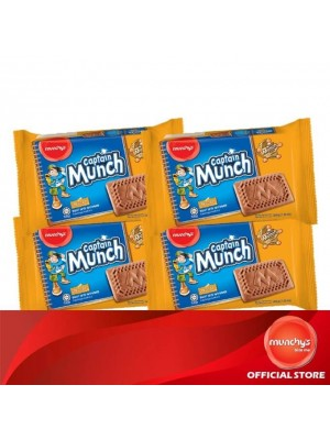 Munchy's Captain Munch Chocolate 4x205g