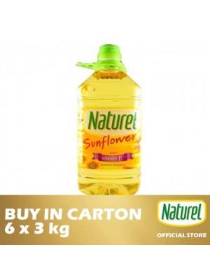 Naturel Pure Sun Flower Oil 6 x 3kg