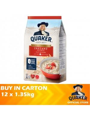 Quaker Oats Instant Oatmeal 12 x 1.35kg