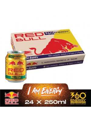 Red Bull Gold Can (6in1) 24 x 250ml