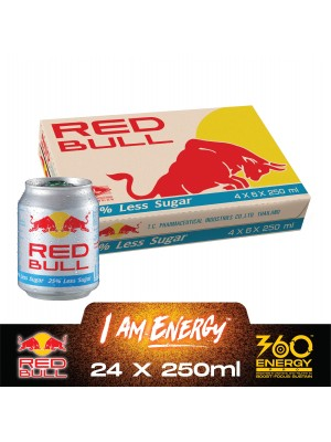 Red Bull Less Sugar (6 in 1) 24 x 250ml
