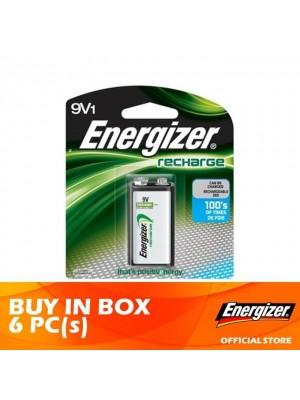Energizer Recharge 9V 6pcs
