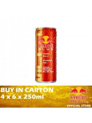 Red Bull Plus Can 4 x 6 x 250ml