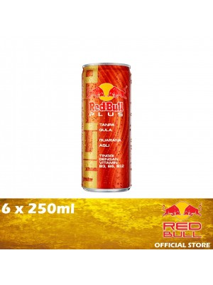 Red Bull Plus Can 6 x 250ml [MUST BUY]