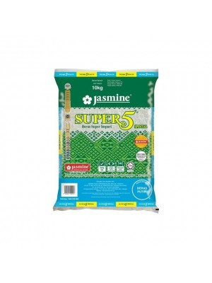 Rice-Jasmine Super 5 Special Import Rice 10kg [Essential]