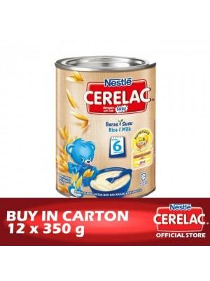 Nestle Cerelac BL FE Rice & Milk 12 x 350g