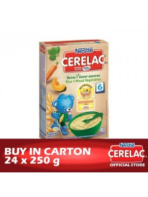 Nestle Cerelac BL FE Rice & Mix Vegetable 24 x 250g