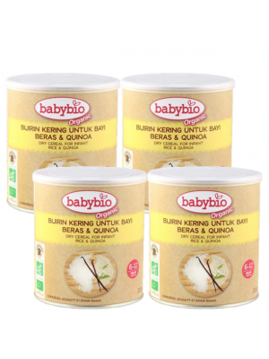 Babybio® Dry Cereal for Infant (Rice & Quinoa) 4x220g