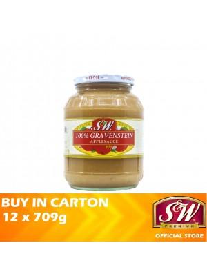 S&W 100% Gravenstein Apple Sauce 12 x 709g