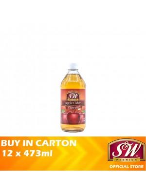 S&W Apple Cider Vinegar 12 x 473ml