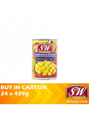 S&W Garbanzo Beans 24 x 439g