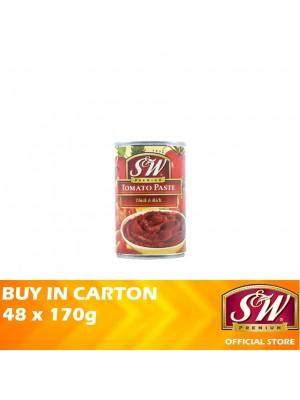 S&W Tomato Paste Thick & Rich 48 x 170g