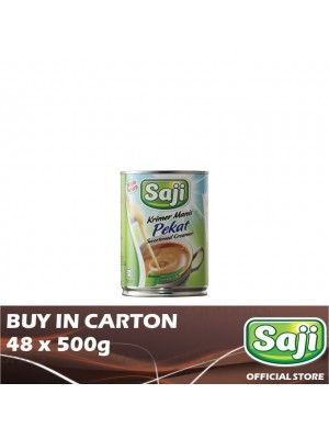 Saji Creamer Pekat 48 x 500g [Essential]