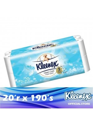 Kleenex Clean Care 3ply Scented Fresh 20'r x 190's