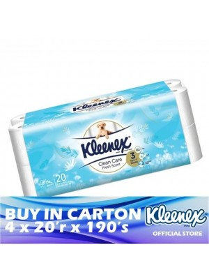 Kleenex Clean Care 3ply Scented Fresh 4 x 20'r x 190's