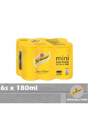 Schweppes Tonic Water Mini 6s x 180ml