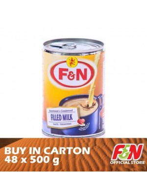 F&N Sweetened Condensed Filled Milk 48 x 500g