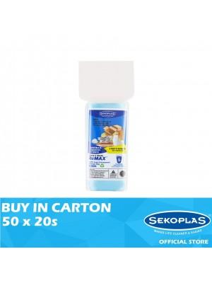 Sekoplas Remax HDPE Garbage Bag Mini Roll Small Blue 50 x 20s