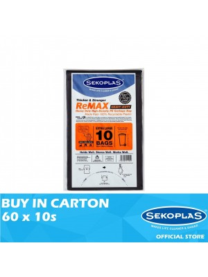 Sekoplas Remax HDPE Garbage Bag Extra Large 60 x 10s