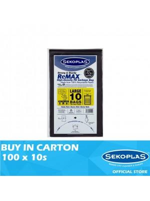 Sekoplas Remax HDPE Garbage Bag Large 100 x 10s