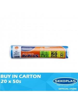 Sekoplas RePLUS HDPE Garbage Bag Roll Medium 20 x 50s