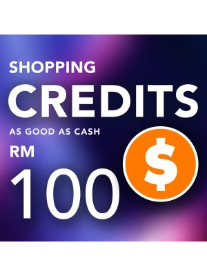 3) Shopping Credit RM 100