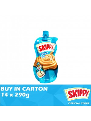 Skippy Peanut Butter Creamy Squeezable 14 x 290g