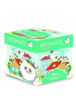 Intimate Slim Pantyliner 100 pcs