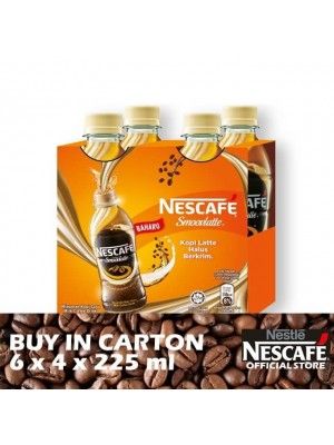 Nescafe Smoovlatte PET 6 x 4 x 225ml