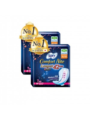 Sofy Side Comfort Nite - Dry Net Sheet 42cm 2x7S