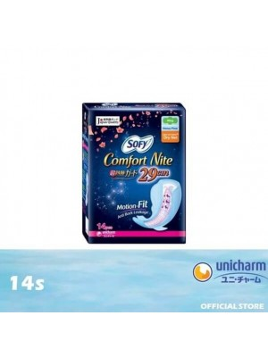 Sofy Side Gather Comfort Night Wing 29cm 14's [MUST BUY]
