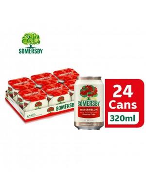 2B. Somersby Watermelon Premium Cider Can 24 x 320mL