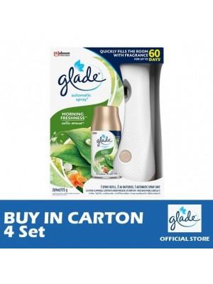 Glade Auto Spray Morning Freshness Starter 4 Set