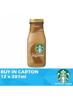 Starbucks Bottled Frappuccino Coffee 12 x 281ml
