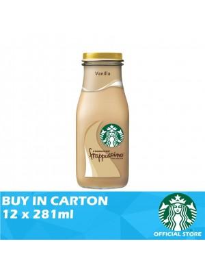 Starbucks Bottled Frappuccino Vanilla 12 x 281ml