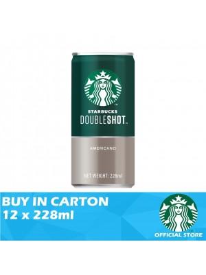 Starbucks Double Shot Classic Americano 12 x 228ml