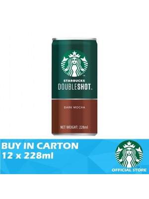 Starbucks Double Shot Dark Mocha 12 x 228ml