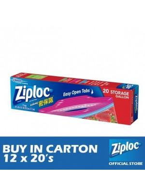 Ziploc Storage Gallon 12 x 20's