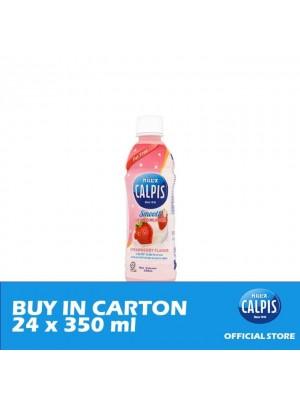 Calpis Smooth Strawberry Flavour Cultured Milk Drink 24 x 350ml