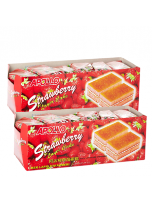 Apollo Strawberry Layer Cake 2x24s
