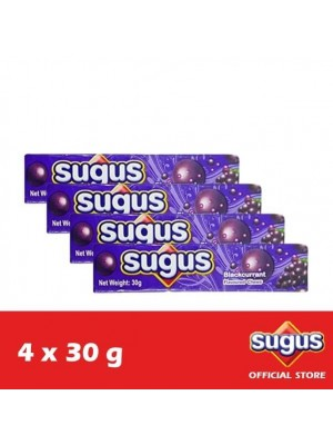 Sugus Blackcurrant Stick 4 x 30g (EXP : 03/2022) [MUST BUY]