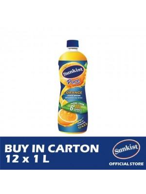 F&N Sunkist Orange 12 x 1L