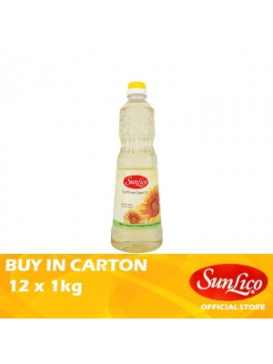 Sunlico Sunflower Seed Oil 12 x 1kg
