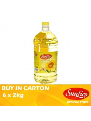 Sunlico Sunflower Seed Oil 6 x 2kg