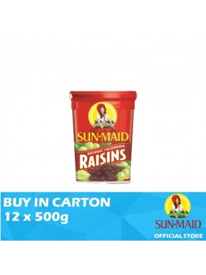 Sunmaid USA Raisins 12 x 500g