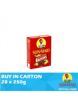 Sunmaid USA Raisins 28 x 250g