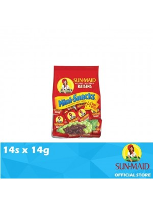 Sunmaid USA Raisins Mini Bag 14s x 14g
